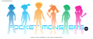 PKMN V - Colored Silhouettes by Blue90