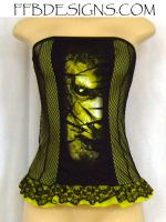 Cradle of Filth top by funkyfunnybone