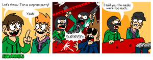 EWCOMIC No.118 - Surprise by eddsworld
