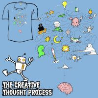 Woot Shirt - Creative Process by fablefire