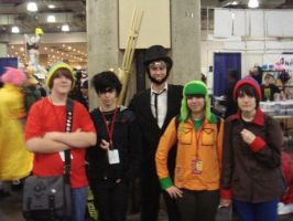 Lincoln and the SouthPark Kids by DirtyColumbus