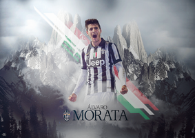 Alvaro Morata by TxsDesign