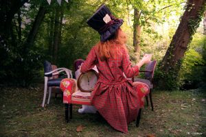 Portrait of the Mad Hatter 2 by 0kmidnight