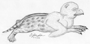 Baby Gryphon by WSTopDeck
