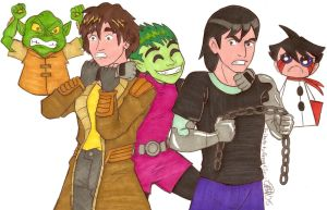 Tribute to Greg Cipes by enstyledesign