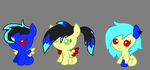 Breedable foals for black-nocturne! by Kittehsmoshfan