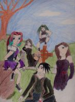Me and the other homunculi by ShadeAkamarie