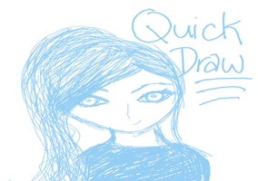 Quick Draw 1 by mimilabeau