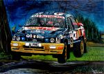 Francois Delecour Ford Sierra RS Cosworth 4x4 by JosefVonDoom