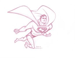 Fly, Superman, Fly by ComicBookArtFiend