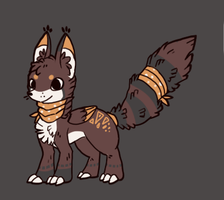 Custom adoptable for anchTHEeevee by Chigle