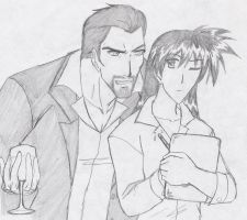 WhisperingKage Request: Tony Stark x Kagome by Zero-Kiba