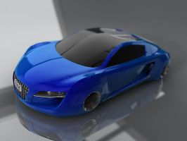 audi rsq c4d files by sanderndreca