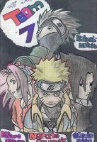 Naruto Team 7 by NaruMikuLink99