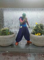 Piccolo in West City by Izeekial