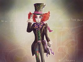 You will never know (Mad Hatter Day) by JudytaDragon