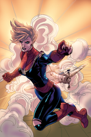 Captain Marvel by NimeshMorarji