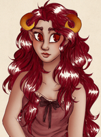 Aradia coloring practice by Natsunohuyana
