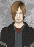 Leon S Kennedy by CupcakeW0nderland