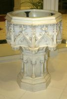 Denver Cathedral Statue 40 by Falln-Stock