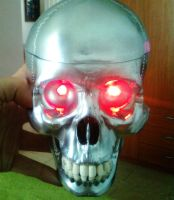 terminator's head by TheWallProducciones