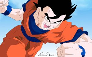 Mystic Gohan by thefishman95