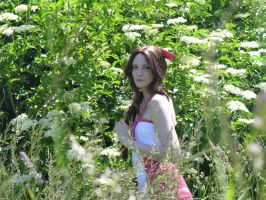 Aerith - The Flower Girl by SoraPilzi