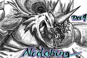 POKEDDEX Challenge- Dec. 4 NIDOKING by ArwingPilot114