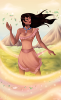 Pocahontas by CoolCatFlora