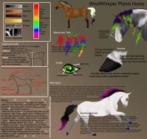 The Plain's Horse Breed sheet by broomstick88