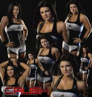 Gina Carano collage by HeartMonga