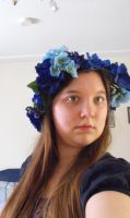 Flower Crown Selfie by Managodess