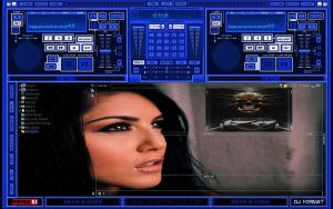 Skin Blue Record For Virtual DJ 7 2012 by THERECORDBLACK01