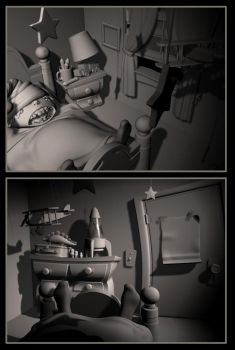 Jacob's Room- thesis models by killthewaitress