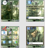 Metal Gear Solid 3 Snake Eater by Spatial