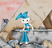Yenny The Teenage Robot by drkdarkage