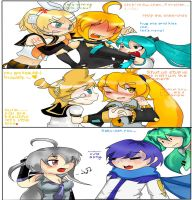 my fav couple of vocaloid by The-cat1