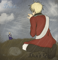 Please...Don't Go... by Tsundere-Gentleman