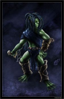 Nolthrir male concept by Clovenhoof