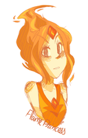 flame princess by sonicat62