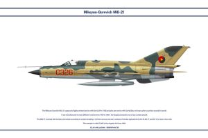 MiG-21 Angola 1 by WS-Clave