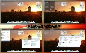 I love My Windows 7 by paolo04379