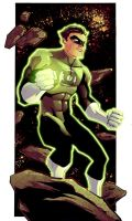 KidNotorious Green Lantern by dcjosh
