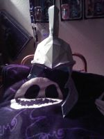 Half completed Imperial Helmet by ZombieGrimm