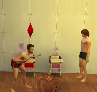 Supernatural Sims- ghost toddlers by Tokiogirl21