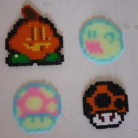 Hama Beads - Halloween by acidezabs