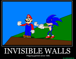 Invisible walls demotivational by CortatG
