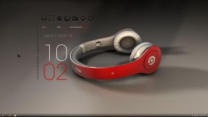 Beats Desktop Minimalist by freddiemac