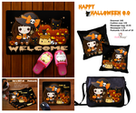 Kawaii Halloween items by tho-be