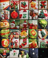 Advent Calendar Quilting Panel [Details] by cakecrumbs